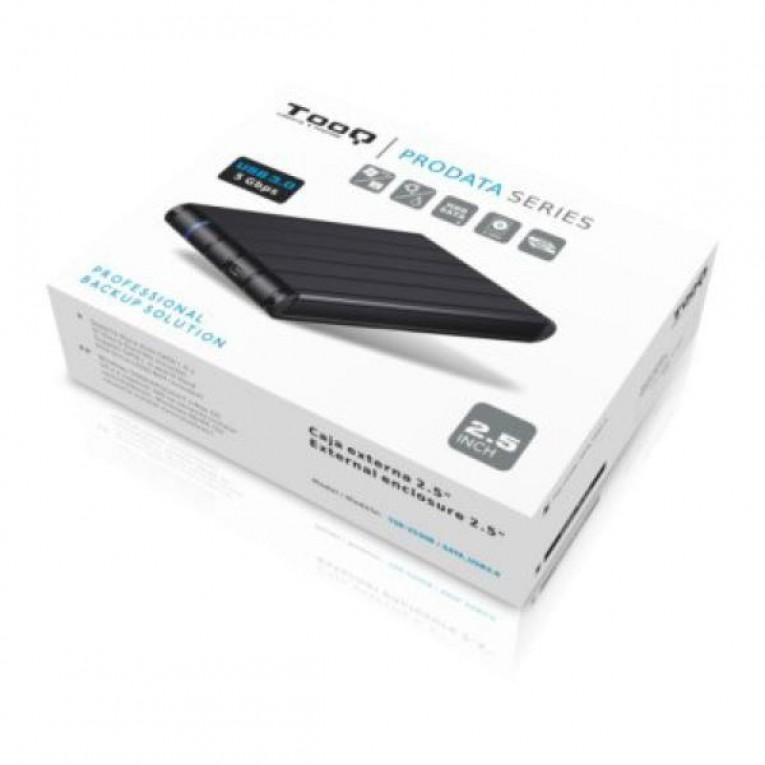 Caixa externa TooQ TQE-2530B HDD 2.5