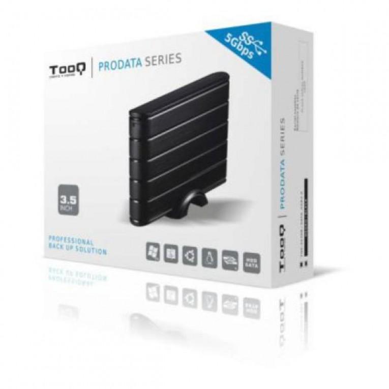 Caixa externa TooQ TQE-3530B HDD 3.5