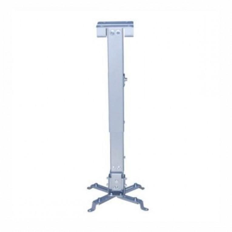 Suporte de Teto Inclinável para Projetor TooQ PJ2012T 20kg 13 - 65 cm -15º/+15º Prata