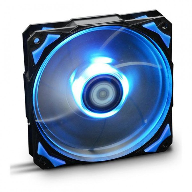 Ventilador de Caixa NOX NXHUMMERF120LB HFAN 12 cm LED Azul