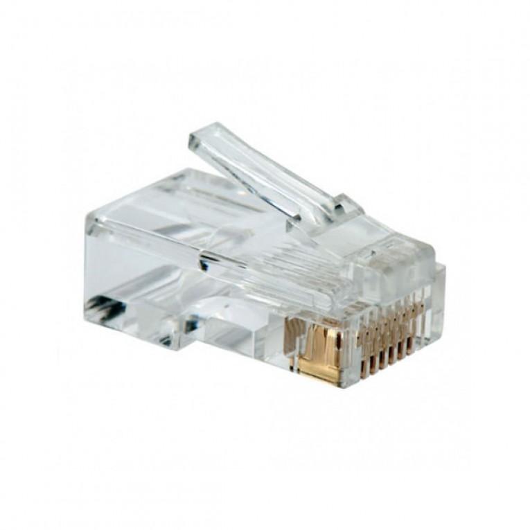 Conector RJ45 Categoria 5 UTP NANOCABLE 10.21.0101 10 pcs Cinzento