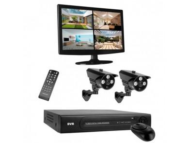 Sistema de Videovigilância HD Smartwares DVR724S
