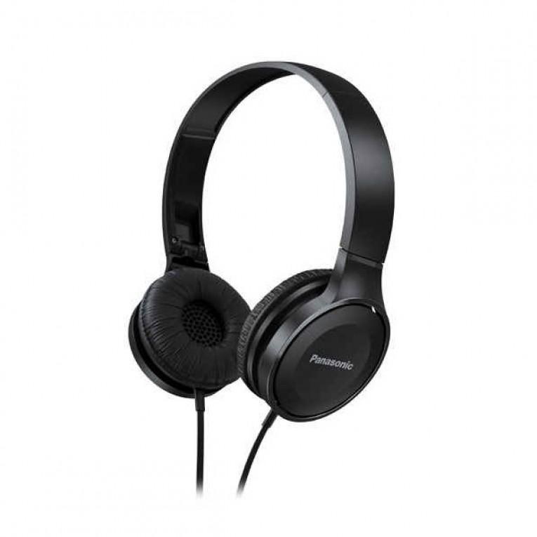 Auriculares Panasonic RP-HF100E-K Preto