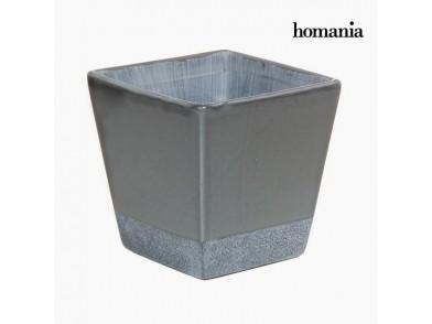 Plantador Cerâmica Cinzento by Homania