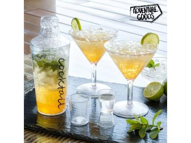 Set de Preparação de Cocktails para Campismo Adventure Goods (4 peças)