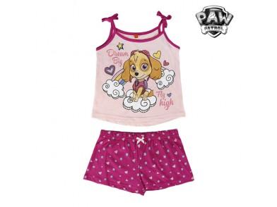 Pijama de Verão para Meninas Skye (A Patrulha Pata)