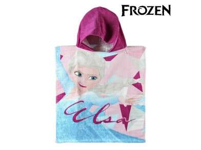 Poncho-Toalha com Capuz Frozen
