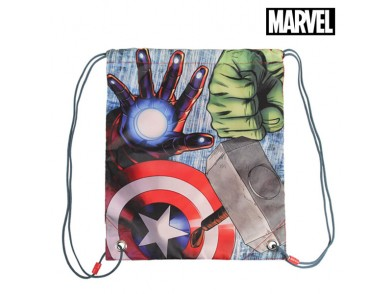 Saco Mochila com Cordas Avengers (31 x 38 cm)
