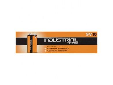 Pilhas Alcalinas DURACELL Industrial DURINDLR61C10 LR61 9V 550 mAh (10 pcs)