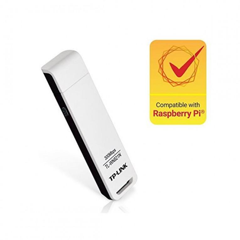 TP-LINK TL-WN821N Adaptador USB 2.0 300N MIMO