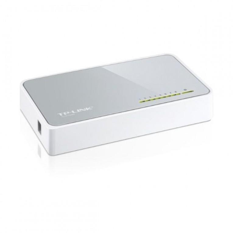 Switch de mesa TP-Link TL-SF1008D 10/100 Mbps Plástico
