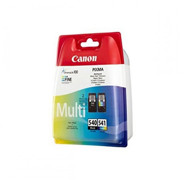 Cartucho de Tinta Original (pack de 2) Canon PG-540/CL541 Tricolor Preto