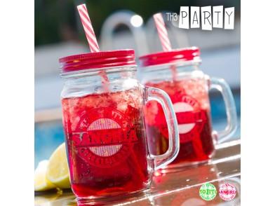 Caneca com Tampa e Palhinha Cocktail Bar Th3 Party