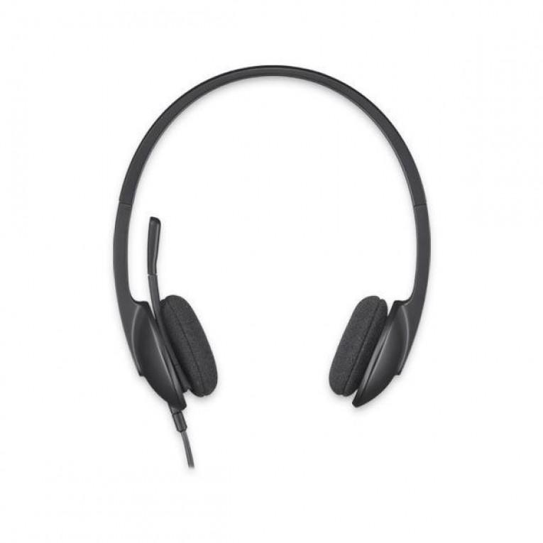 Auriculares com microfone Logitech H340 USB 1,8 m Preto