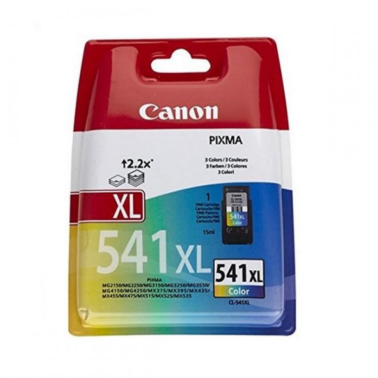 Tinteiro de Tinta Original Canon CL-541XL MG2250/MX395 Tricolor