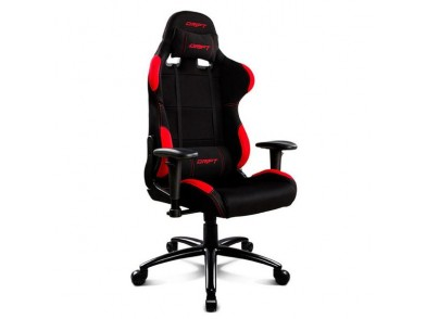 Cadeira de Gaming DRIFT DR100BR 90-160º Tecido Espuma Preto Vermelho