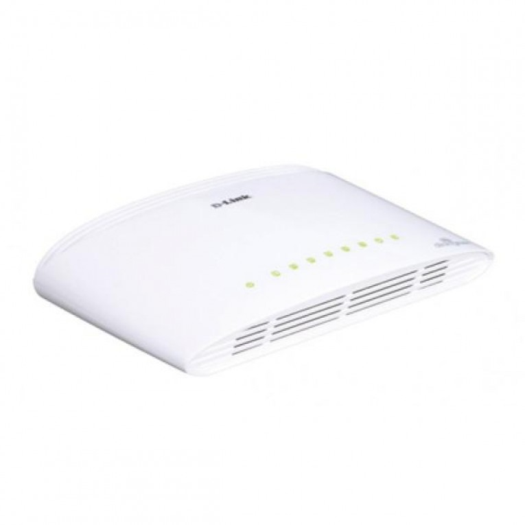 Switch D-Link DGS-1008D 8 p 10 / 100 / 1000 Mbps