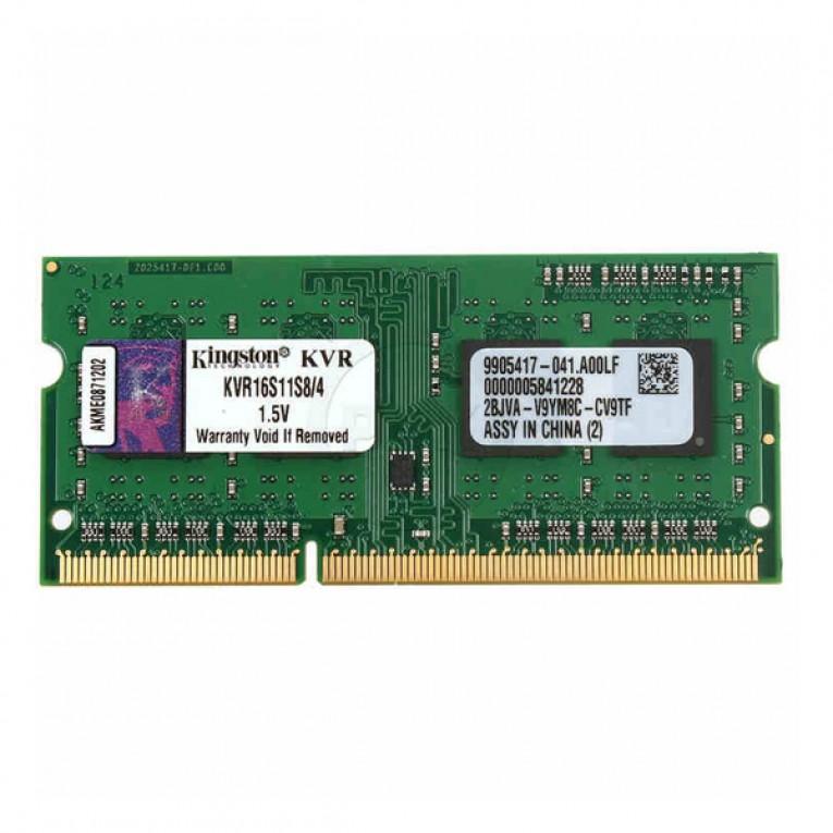 Memória RAM Kingston IMEMD30096 KVR16S11S8/4 4 GB 1600 MHz DDR3-PC3-12800