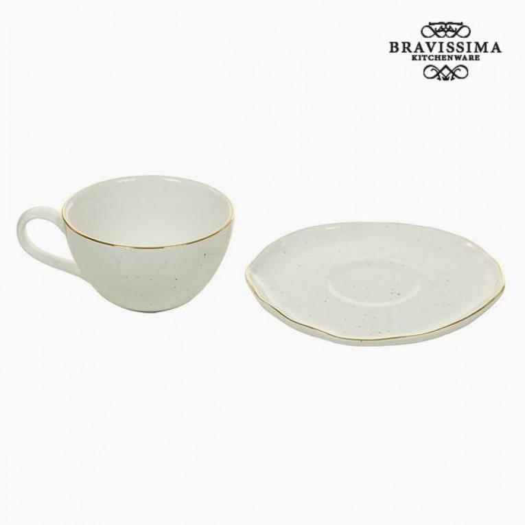 Chávena com Prato - Queen Kitchen Coleção