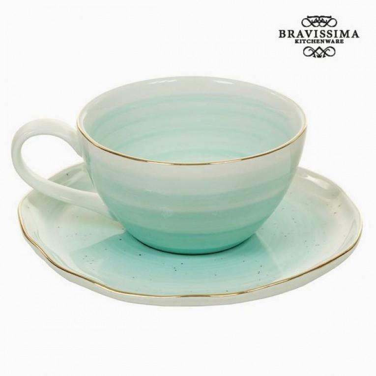 Chávena com Prato 250 ml - Queen Kitchen Coleção