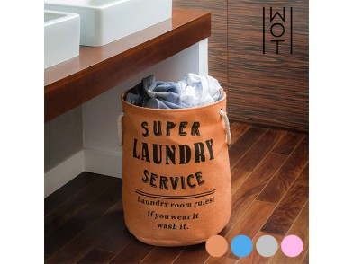 Saco para Roupa Suja Super Laundry Service Wagon Trend