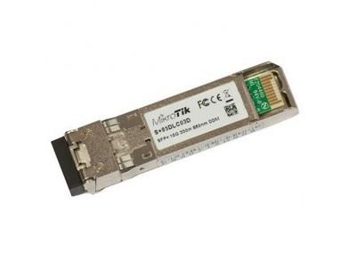Módulo Fibra SFP+ MultiModo Mikrotik S+85DLC03D 300 m
