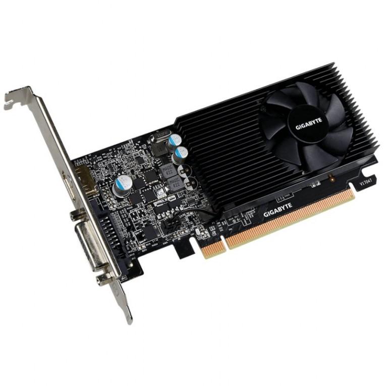 Placa Gráfica Gigabyte ITGPE50507 VGA NVIDIA GeForce GT 1030 LP 2 GB DDR5