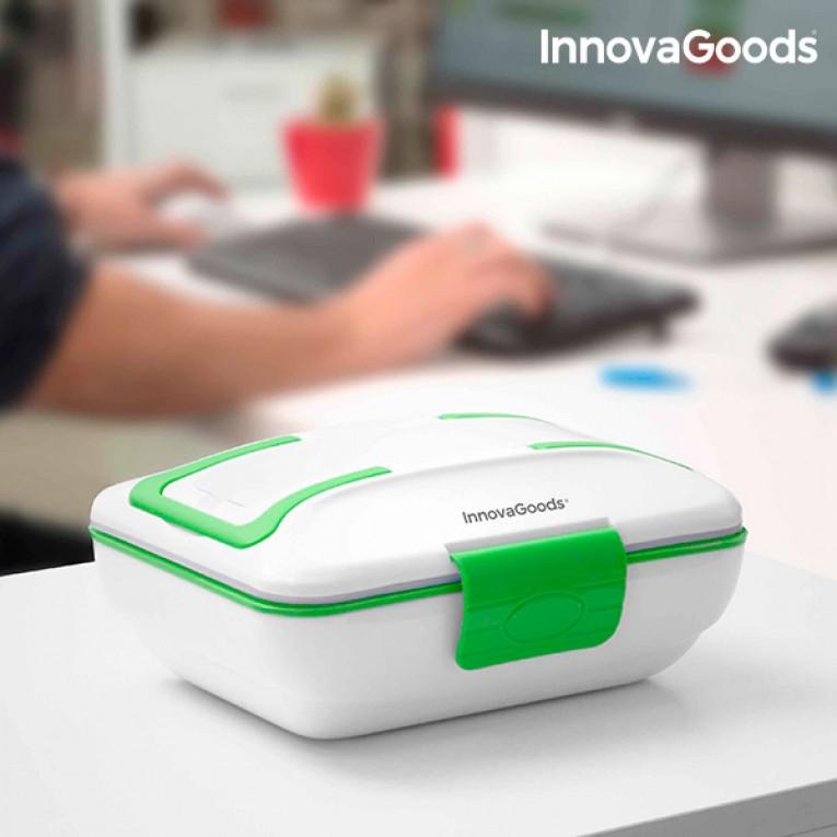 Lancheira Elétrica Pro InnovaGoods 50W Branca Verde