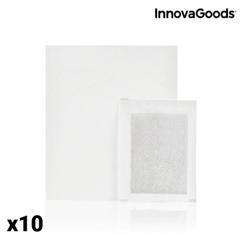 Adesivos Desintoxicantes para Pés InnovaGoods (Conjunto de 10)