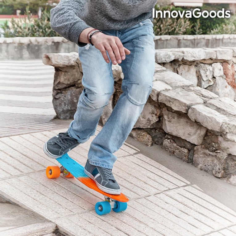 Skate Mini Cruiser InnovaGoods (4 Rodas)