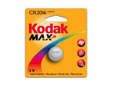 Pilha de Botão de Lítio Kodak KCR2016 3 V Prata