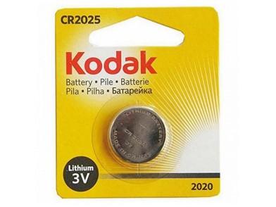 Pilha de Botão de Lítio Kodak KCR 2025 3 V Prata