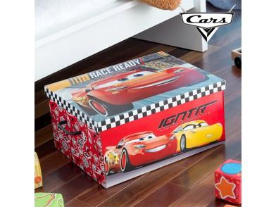 Organizador de Brinquedos Dobrável Cars (50 x 39 cm)