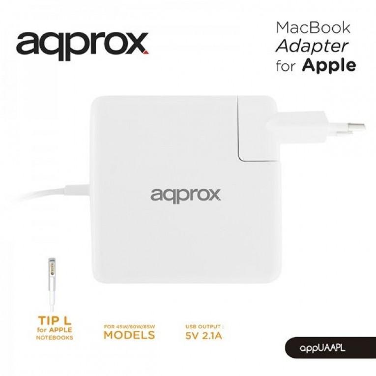 Carregador para Portátil approx! AAOACR0194 APPUAAPL Apple Typ L