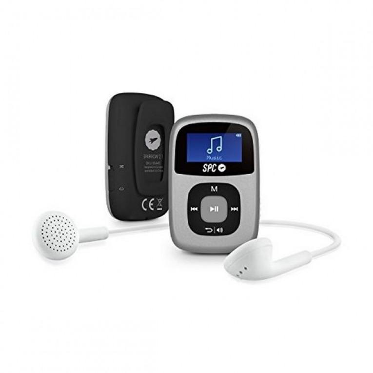 Reprodutor MP3 SPC Sparrow 8644S 4 GB Clipe