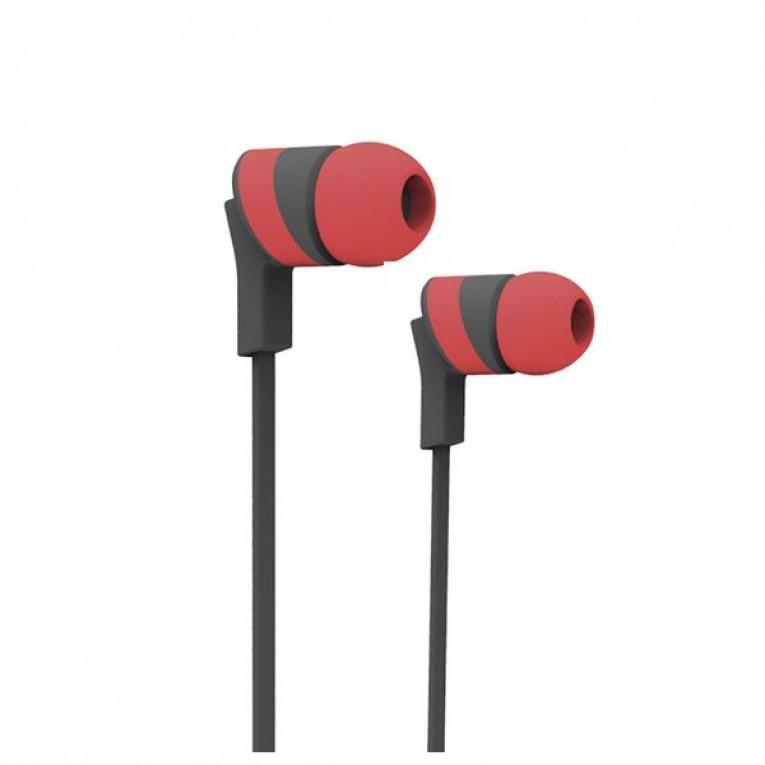 Auriculares Bluetooth com microfone para prática desportiva Ref. 101417 Vermelho