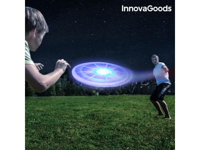 Frisbee com Luz LED Colorida InnovaGoods