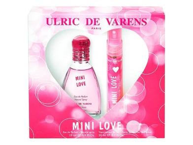 Conjunto de Perfume Mulher Mini Love Ulric De Varens (2 pcs)