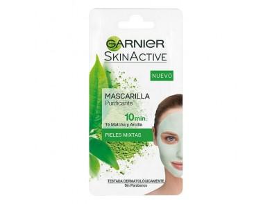 Máscara purificante Skinactive Rescue Garnier