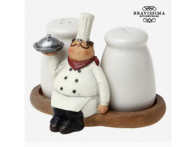 Conjunto de Saleiro e Pimenteiro  Bravissima Kitchen 8861 (2 pcs)