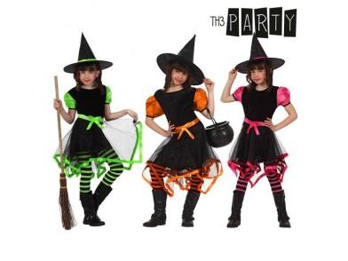 Fantasia para Crianças Bruxa Multicolor