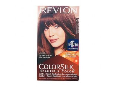 Tinta Sem Amoníaco Colorsilk Revlon Castanho dourado