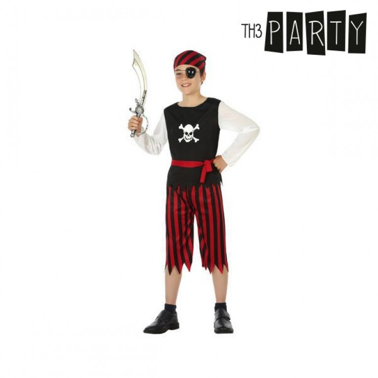 Fantasia para Crianças Pirata Vermelho