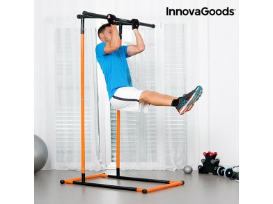Estação de Elevações e Fitness com Guia de Exercícios InnovaGoods
