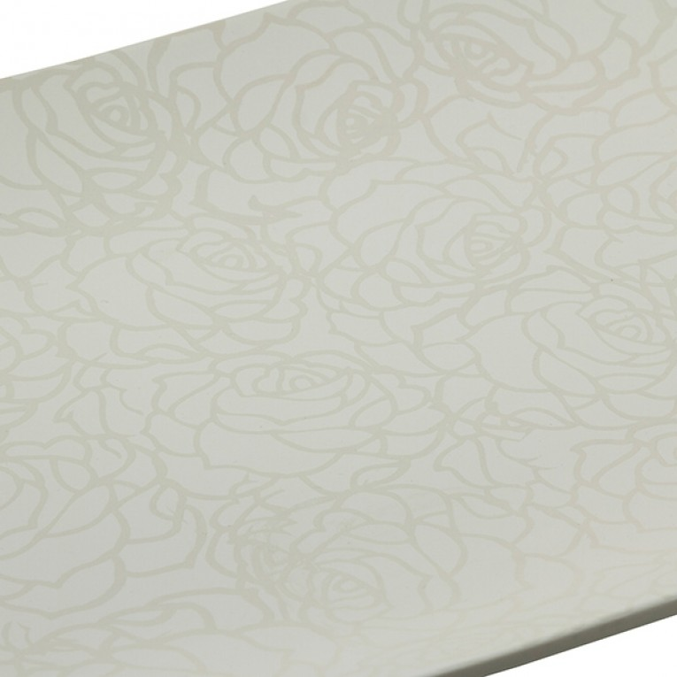 Centro de mesa (49 x 36 x 6 cm) Cerâmica