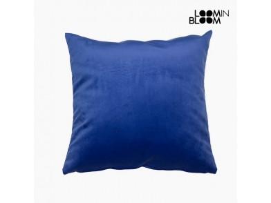 Almofada (45 x 45 x 10 cm) Poliéster Azul