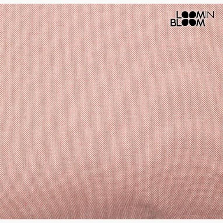 Almofada Panama (60 x 60 x 10 cm) Algodão e poliéster Cor de rosa