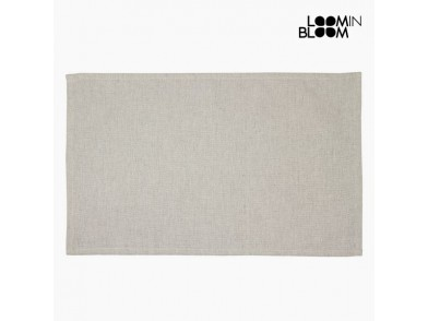 Toalha de Mesa Bege (13 x 20 x 0,5 cm) by Loom In Bloom