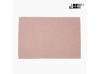 Toalha de Mesa Cor de rosa (13 x 20 x 0,5 cm) by Loom In Bloom
