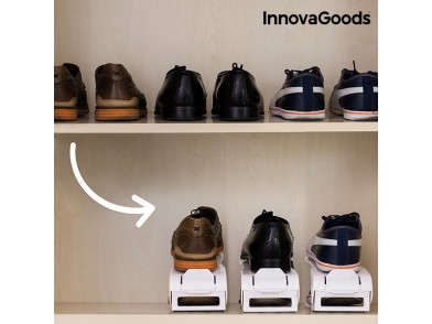 Organizador de Sapatos Regulável Shoe Rack InnovaGoods (6 Pares)